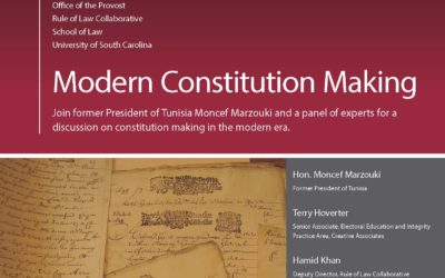 Modern Constitution Making featuted image