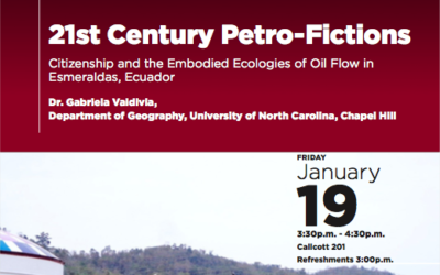 21st Century Petro-Fictions: Citizenship and the Embodied Ecologies of Oil Flow in Esmeraldas, Ecuador featuted image