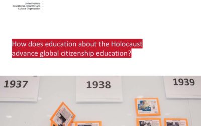 ROLC Associate Dr. Doyle Stevick Publishes UNESCO Paper on Holocaust Education and Global Citizenship Education featuted image