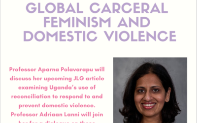 ROLC Core Faculty Member Aparna Polavarapu Invited to Give Lecture at Harvard on Carceral Feminism featuted image