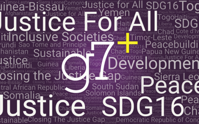 g7+ Ministerial Meeting on Access to Justice for All in Conflict-Affected Countries featuted image