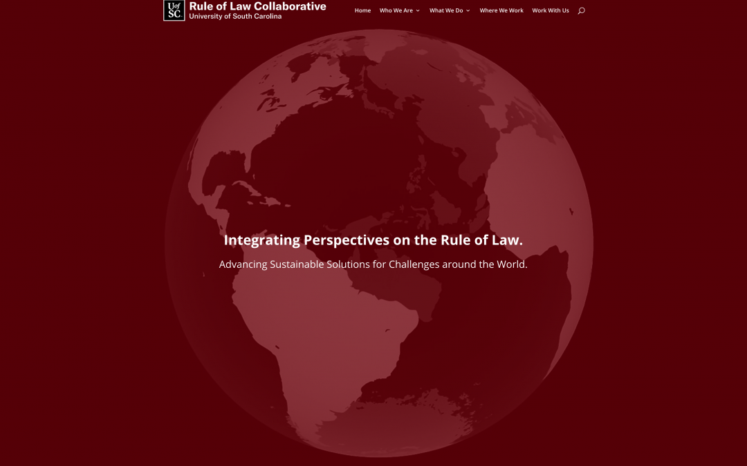 Changes to Rule of Law Collaborative Website