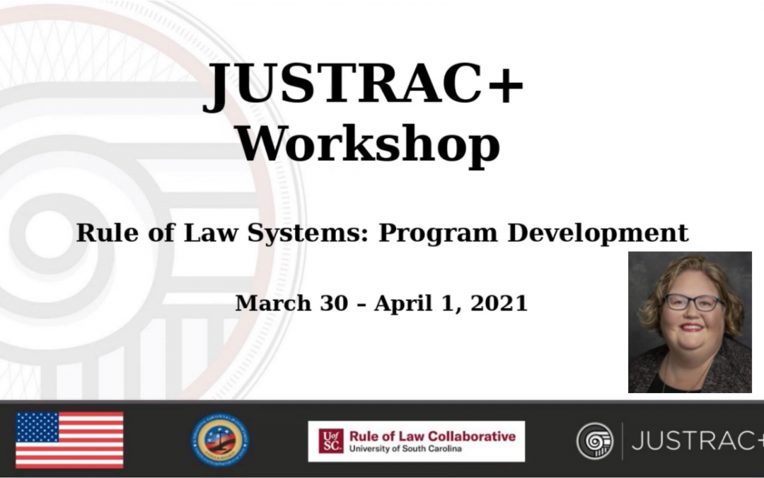 Rule of Law Collaborative Holds JUSTRAC+ Program Development Workshop